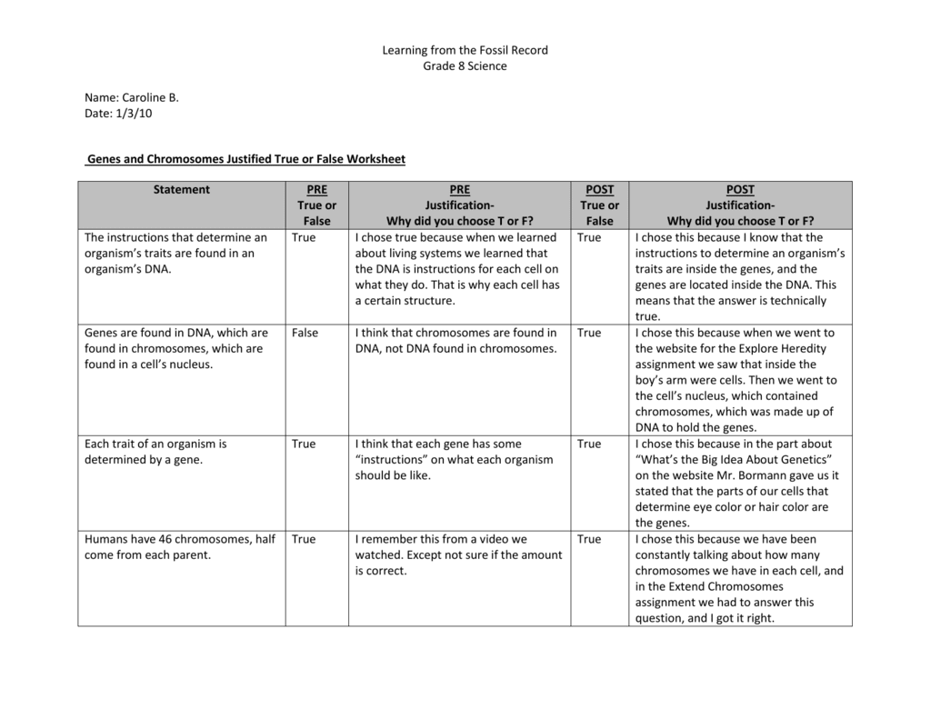 32 Genes And Chromosomes Worksheet Answers - Worksheet ...