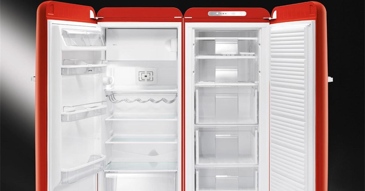 Retro Kühlschrank Oranier : Smeg kühlschrank retro rot laura duncan