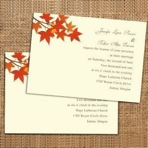 Affordable wedding invitations with free response cards at