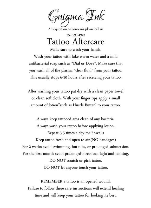 Best Tattoo Aftercare   Tattoo Ideas
