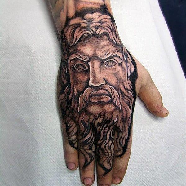 80 Zeus Tattoo Designs For Men A Thunderbolt Of Ideas
