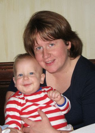 Nolan and his godmother Elizabeth web