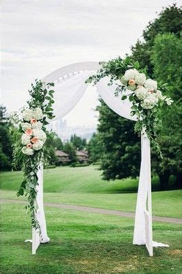 How Much Does Your Ceremony Arch Flowers Cost?   Weddings