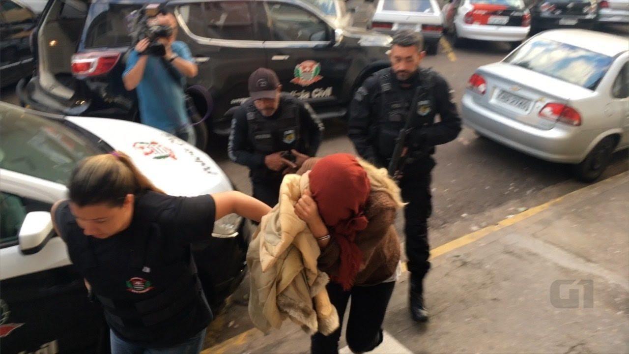 Luana Don realizou exames médicos antes de seguir para a Penitenciária de Tupi Paulista