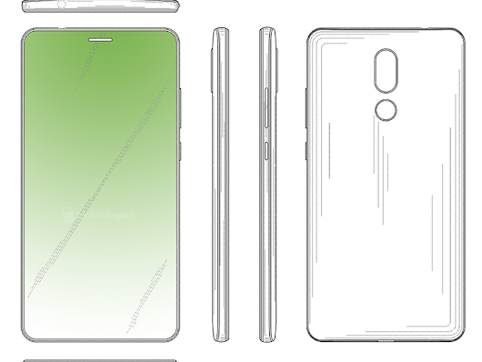 Huawei's new patent reveals a bezel-less display with hidden front-facing camera and in-display Earpiece - Huawei Central