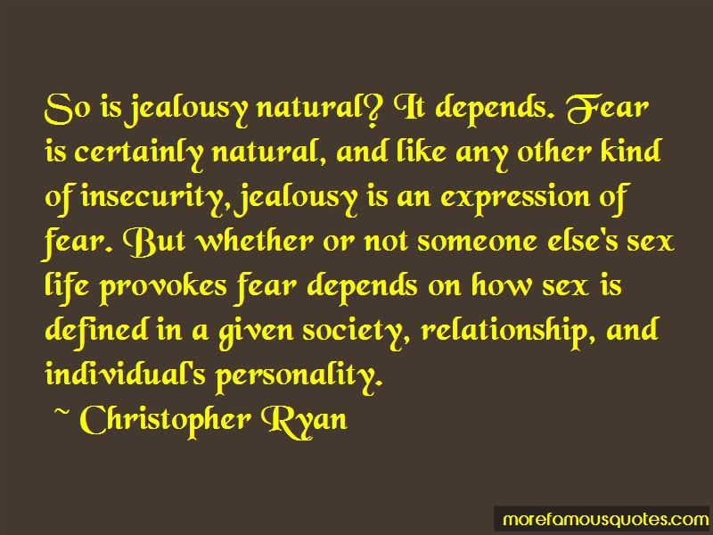 Insecurity In Relationship Quotes Top 9 Quotes About Insecurity In