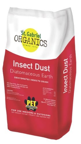 Diatomaceous Earth Fleas St Gabriel Laboratories All
