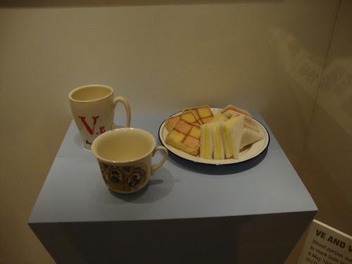 celebration tea ministry of food iwm london