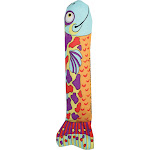 Petstages - Madcap Crunch and Wrestle Fish Catnip Kicking Toy