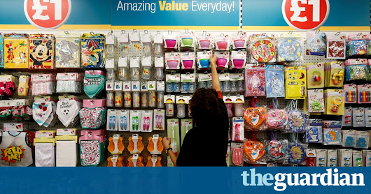 Poundland to start selling clothing – but for more than £1 | Business | The Guardian
