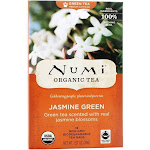 Numi Organic Green Tea Jasmine 18 Tea Bags
