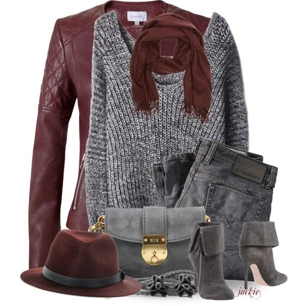 """""""Pantone's Color of the Year....Marsala"""" by jackie22 on Polyvore"""