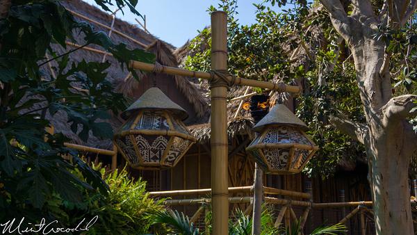 Disneyland Resort, Disneyland, Adventureland, Lamps, Tiki