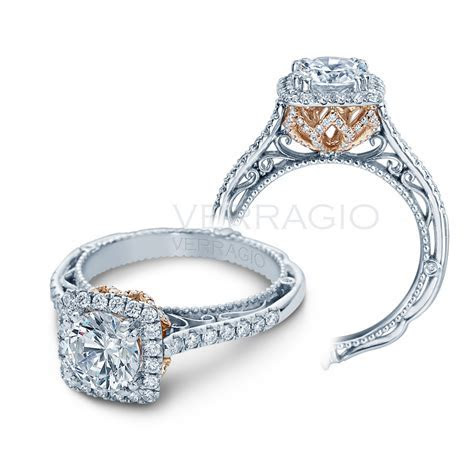 Verragio Engagement Rings AFN 5061CU Diamond Setting