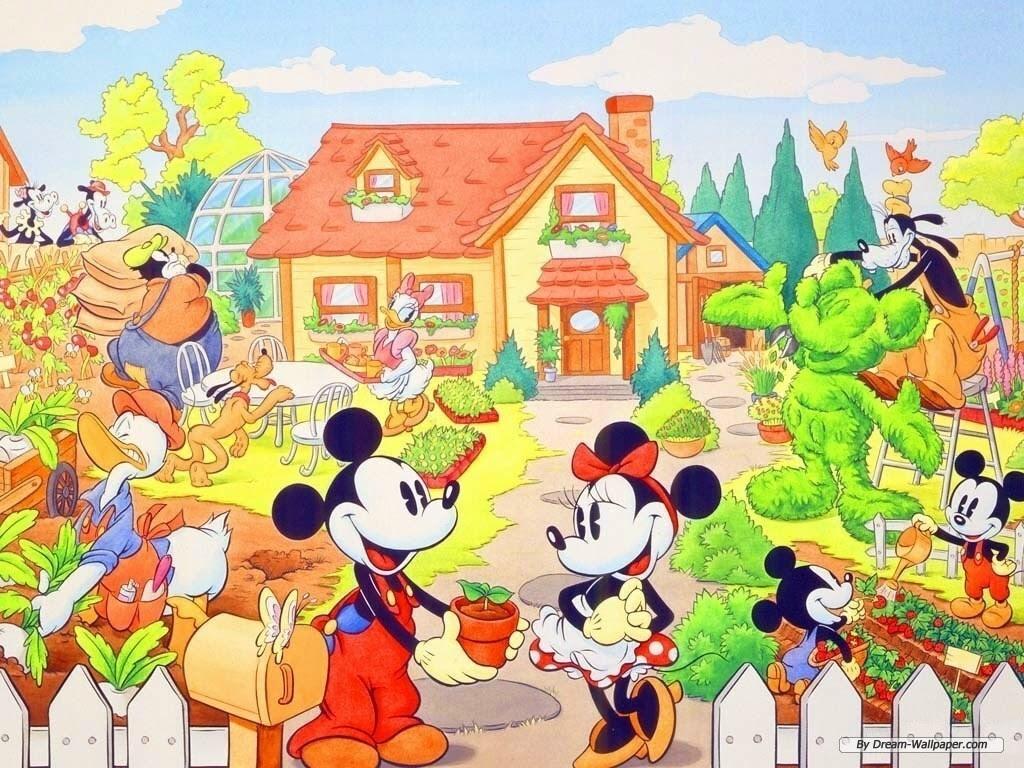 Mickey マウス And Minnie 壁紙 ミッキー ミニー 壁紙 7004429