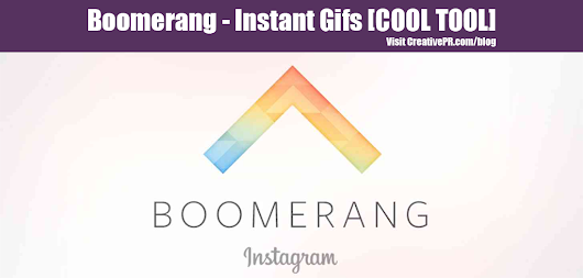 Boomerang App - Instant Gifs - COOL TOOL