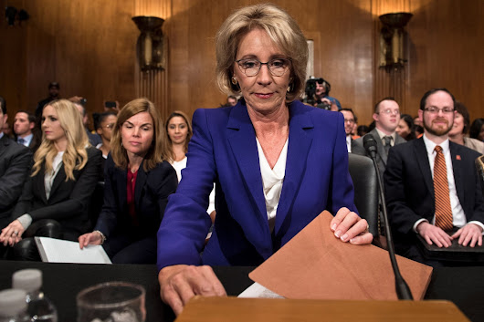 Trump Education Nominee Betsy DeVos Lied to the Senate