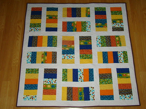 Mini Stacked Coins Quilt