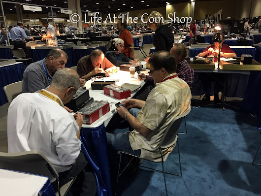Long Beach Coin Show, January 2015: Coin Porn