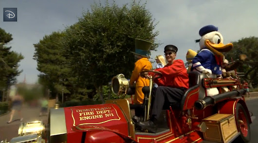 Main Street Fire Engine Celebrates 55 Years at Disneyland Park