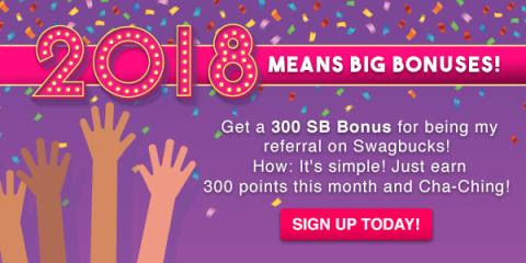 Get $3 when you sign up for Swagbucks in January - SingleMommies