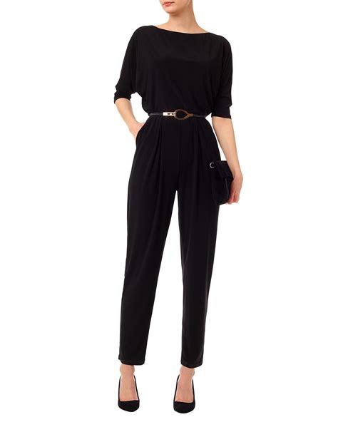 maxi dresses jumpsuits black eleanora jumpsuit phase