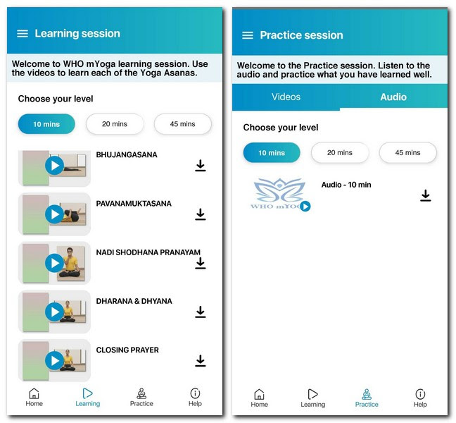 The app offers learning and practice sessions. Image: Tech2