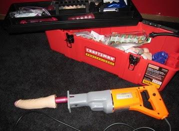 Sawzall-Dildo Adapter   Toolworks Chicago inc.