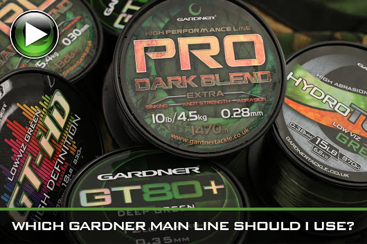 Which Gardner Main Line Should I Use? ~ Video - Gardner Tackle