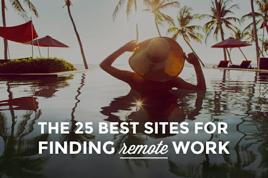 The 25+ Best Sites For Finding Remote Work