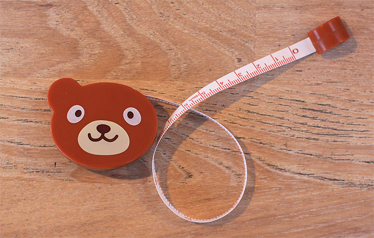 Teddy Bear Tape Measure #2