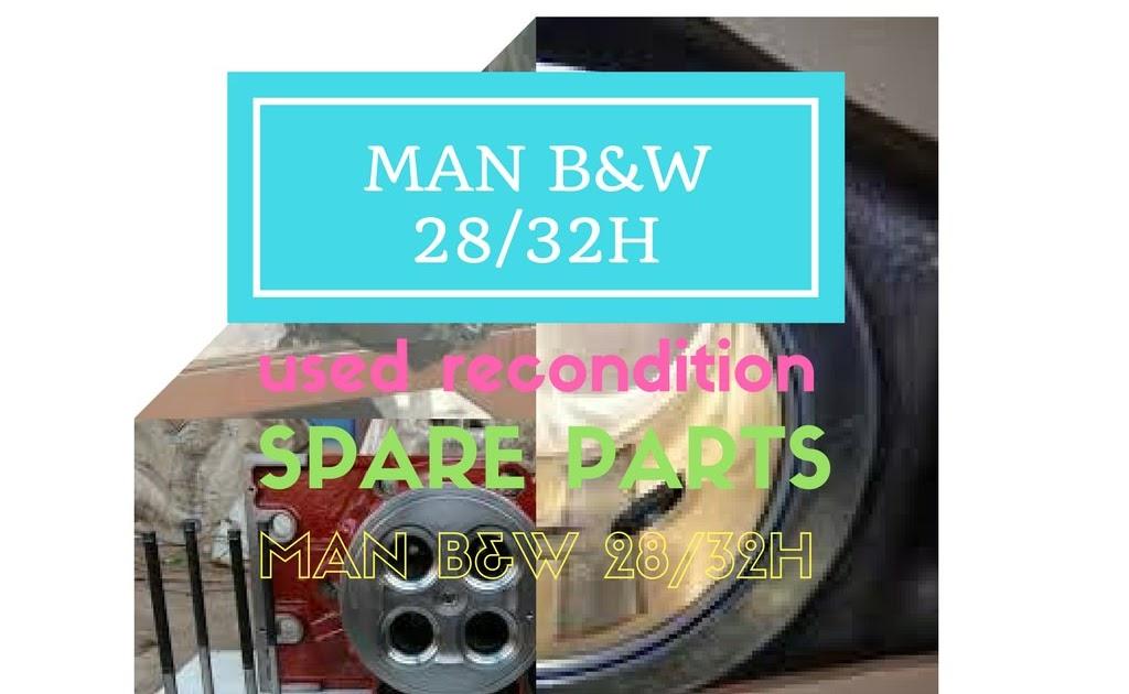 MAN B&W 28/32H Complete Engine / Spares