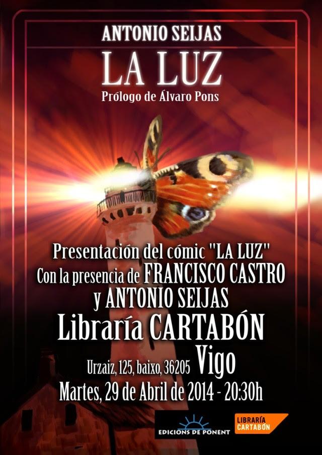 Presentación LA LUZ en Vigo
