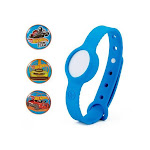 Nabi Hot Wheels Edition Compete Competitive Band For Kids - Blue