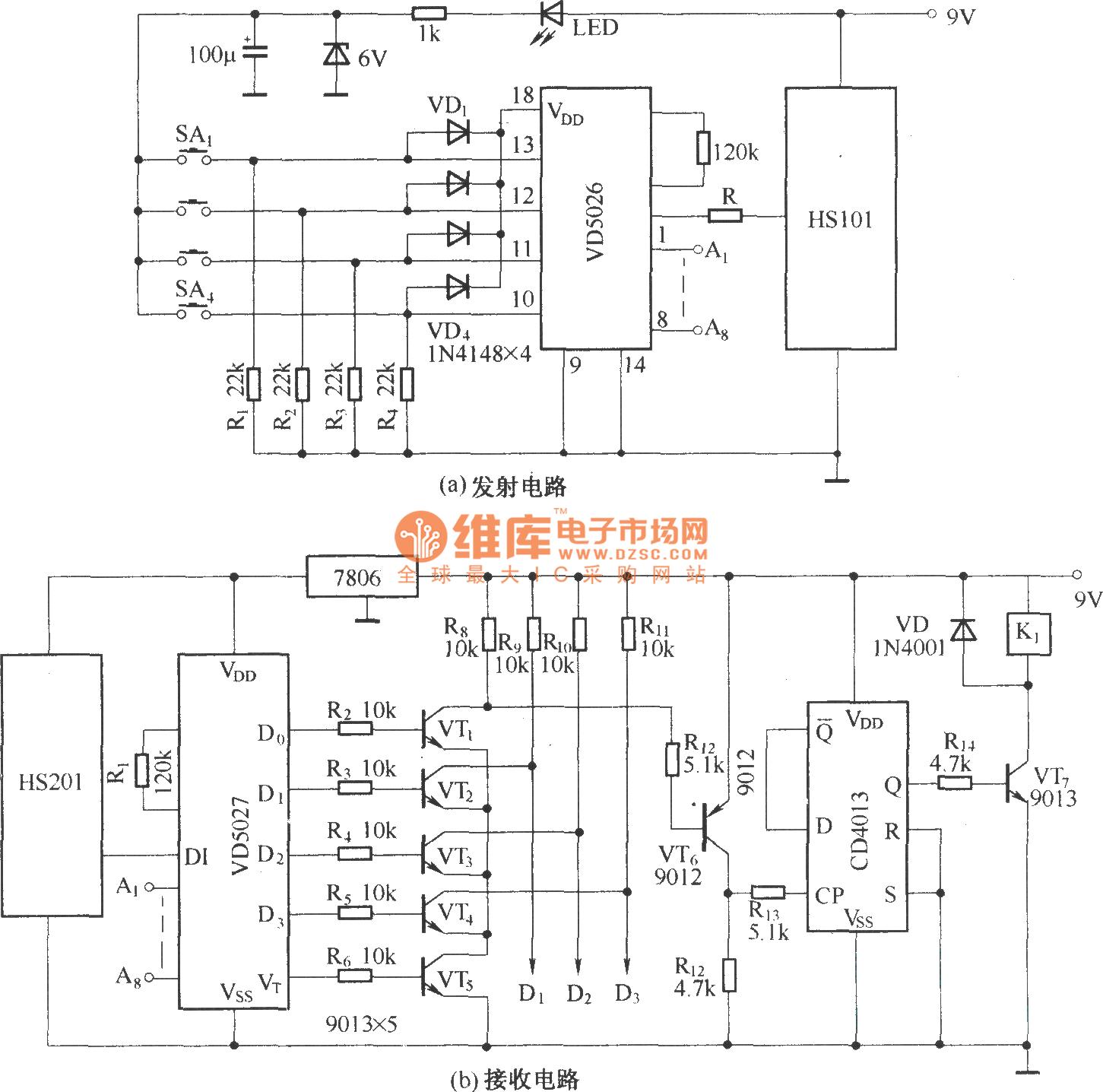 Remote Control Fan Circuit Diagram Pdf - Diagram