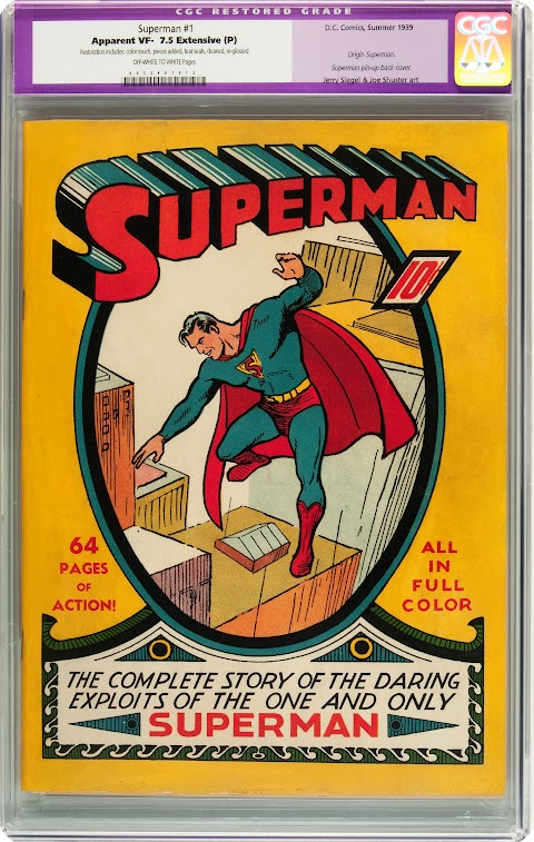 How Much Is A Superman Comic Book Worth