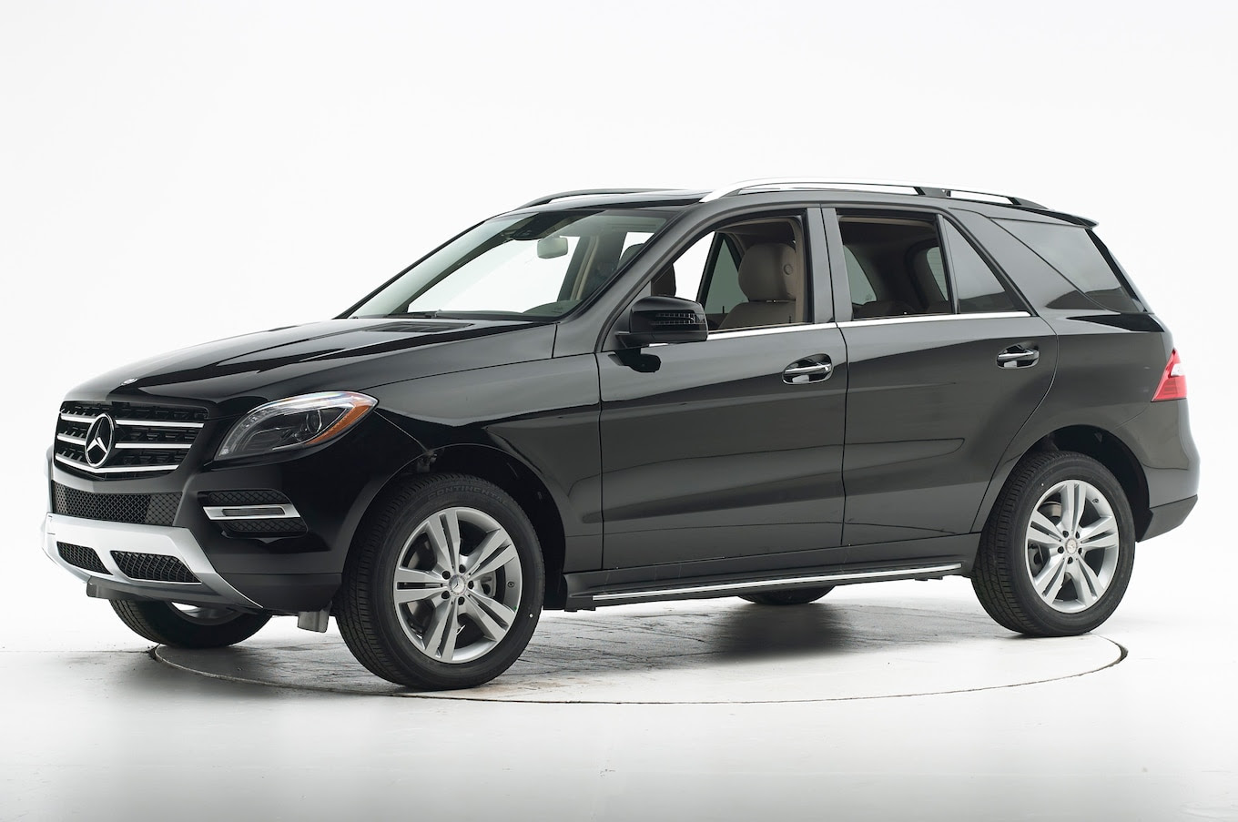 2014 Mercedes-Benz M-Class Awarded IIHS Top Safety Pick+
