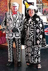 Pearly King & Queen: sick fetish