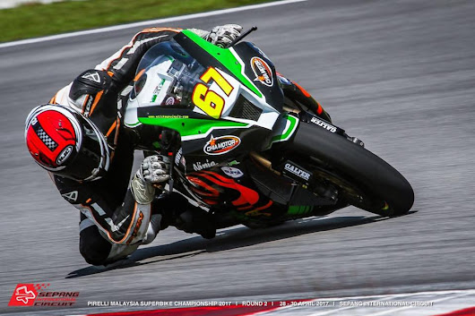 Rajini Krishnan and Dinesh Kumar Took part in the Malaysian Superbike Championship