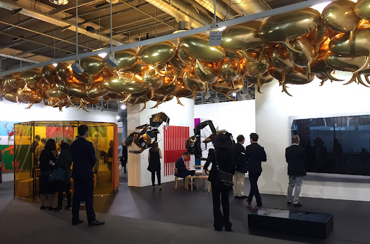 Art Basel Day Two: Best booths, really bad sculpture