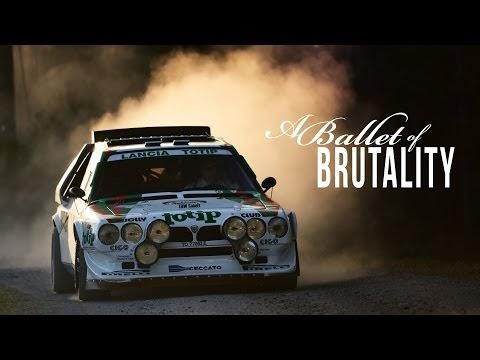 Lancia Delta S4 derrape controlado en Stop Motion