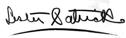 Lester Patrick autograph, Lester Patrick autograph