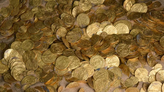 Largest trove of gold coins in Israel unearthed from ancient harbor