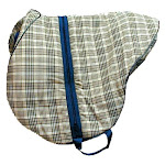 High Spirit Horse Equipment HS1102 Saddle Carrying Bag for English Saddles Horsemans Plaid