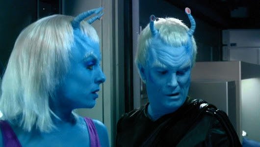 Andorians in Mythic Space