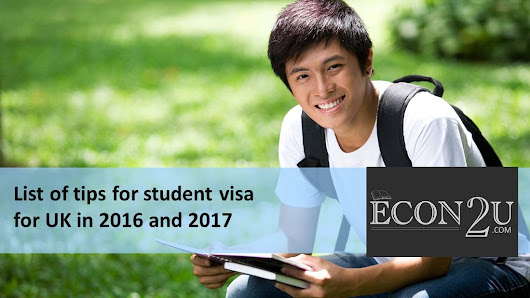List of tips for student visa for UK in 2016 and 2017