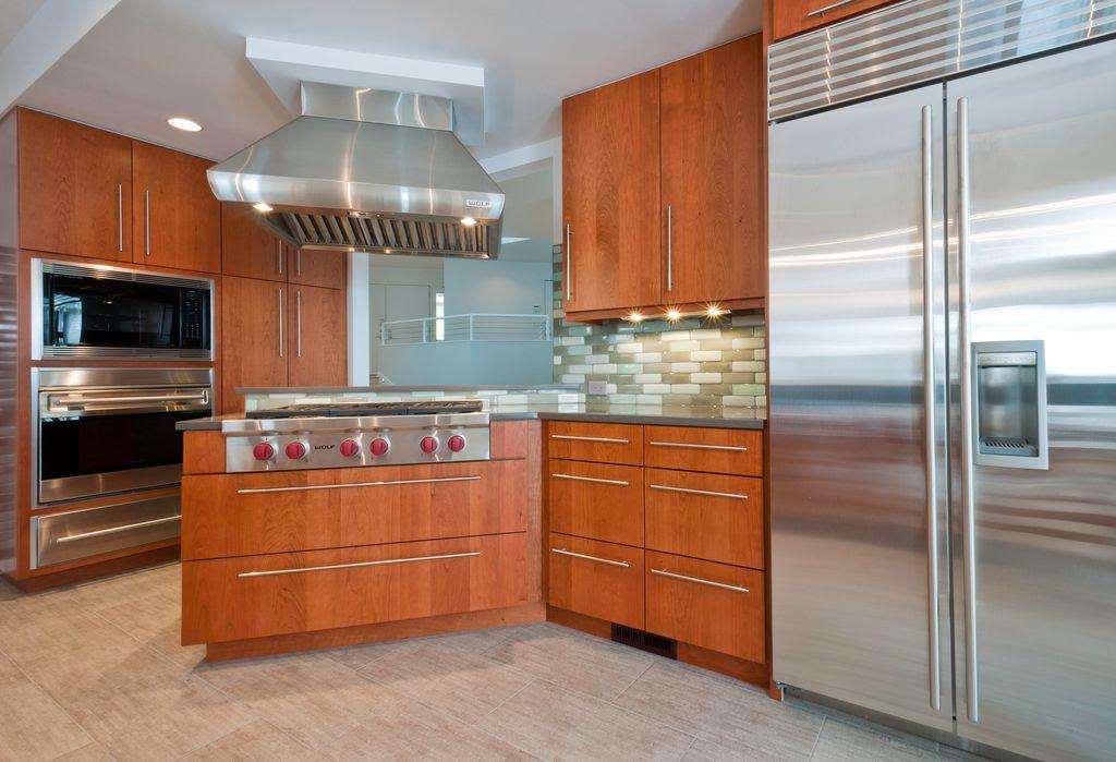 Stainless Steel T bar Modern Kitchen Cabinet Door Handles ...