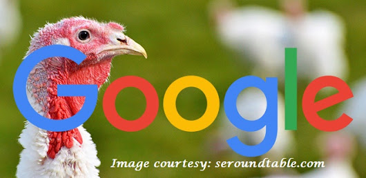 The Thanksgiving Search Algorithm Update from Google