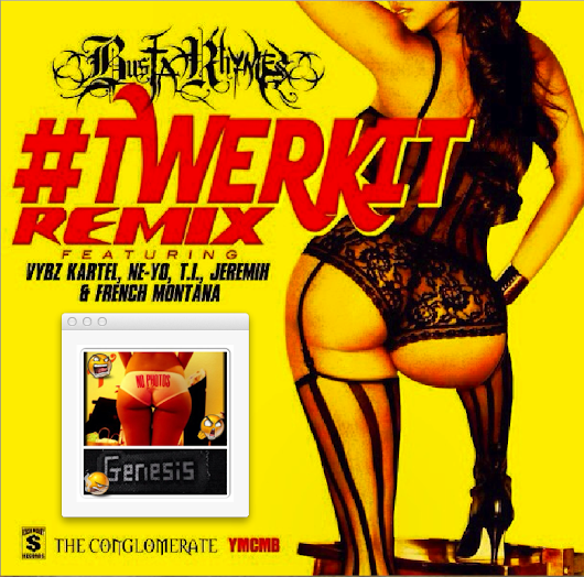 Busta Rhymes Feat. Vybz Kartel, Ne - Yo, T.I., Jeremih, French Montana - Twerk It (Remix) @djbl3m