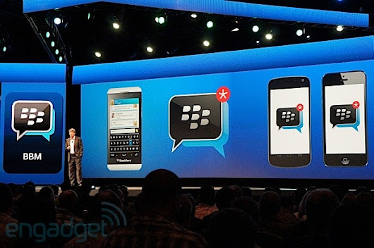 BlackBerry to begin offering BBM as standalone app to iOS and Android this summer